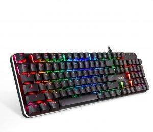 EagleTec KG050-BR RGB Backlit Mechanical Gaming Keyboard Low Profile