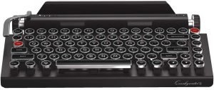 Qwerkywriter S Typewriter Inspired Retro Mechanical Wired & Wireless Keyboard